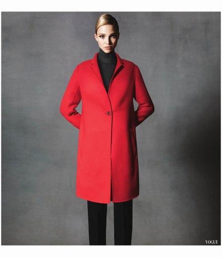 Sasha Luss Vogue 2014 For Neiman Marcus Photo Walter Chin