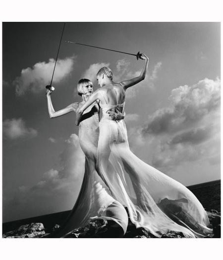 Servizio di moda per Vogue Usa, Monaco, 1996
