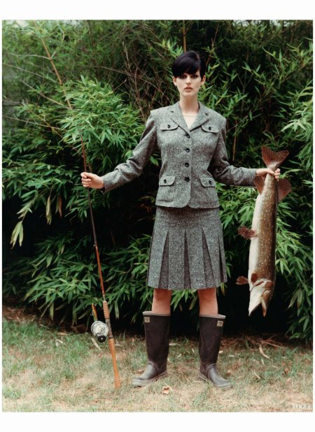 Stella Tennant Arthur Elgort, Vogue, October, 1995