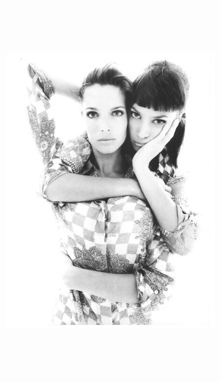 Stephanie Seymour & Christy Turlington Photo Steven Meisel 1994