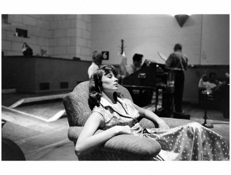 Suzy Parker 1957 Photo Allan Grant bn1