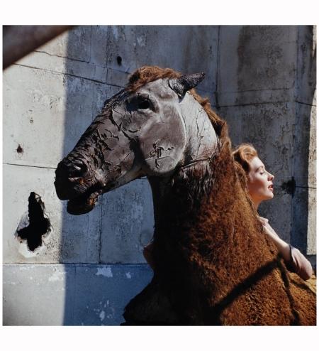 Suzy Parker 1957 Photo Allan Grant