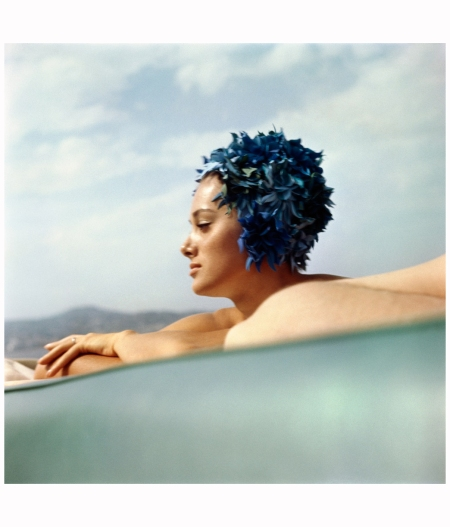 Sylvana Empain Juan-les-Pins, août 1961. Photo J. H. Lartigue
