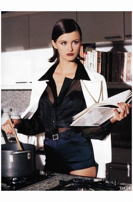 Trish Goff 1995 Vogue Photo Pamela Hanson