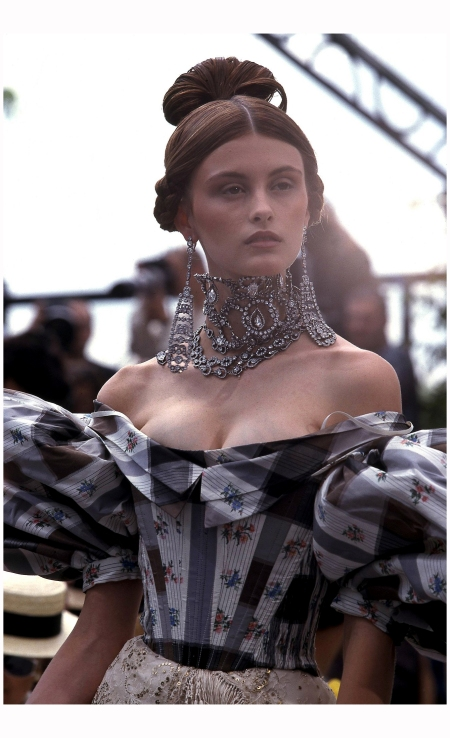 Trish Goff 1997 Dior Vogue Photo Guy Marineau