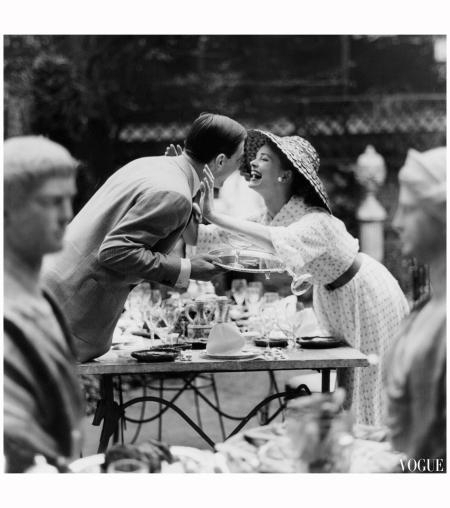 Vogue june 1957 Photo Tony Armstrong jones %22Snowdon%22
