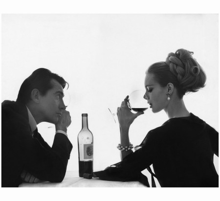 Walter Chiari and Monique Chevalier  Bert Stern, Vogue, April 15, 1962