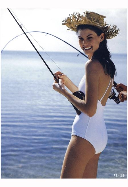 Angela Lindvall - Vogue, Au Nov 1998 Bruce Weber