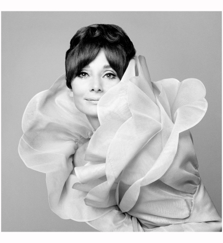 Audrey Hepburn - Valentino Vogue Italia Roma 1969 Photo Gian Paolo Barbieri