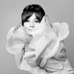 Audrey Hepburn Valentino Vogue Italia Roma 1969 Photo Gian Paolo Barbieri