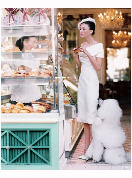Audrey Marnay Arthur Elgort, Vogue, October 2002