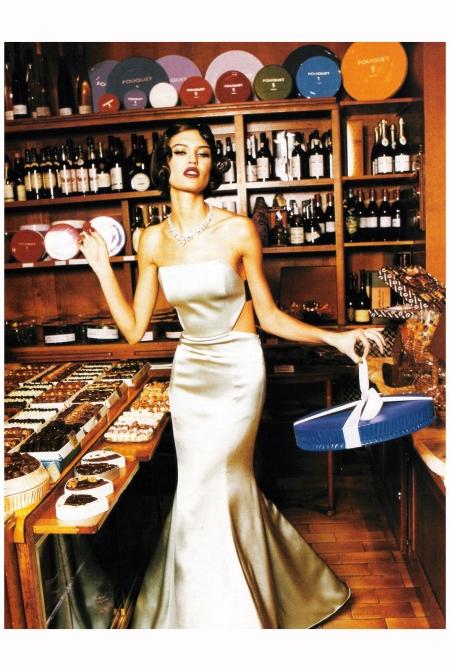 Bianca Balti Vogue Italia April 2005 Photo Ellen von Unwerth