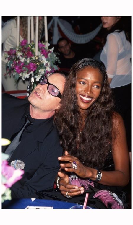 Bono and Naomi Campbell, September 1999 Dave Allocca