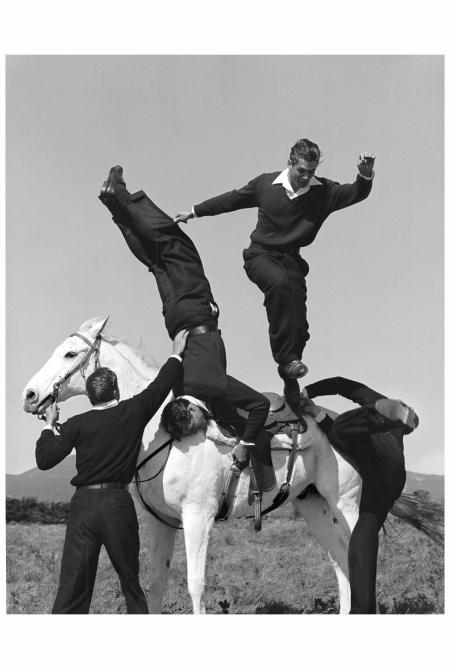 Calvin Klein Collection campaign. Santa Barbara, CA, 1987 Bruce Weber
