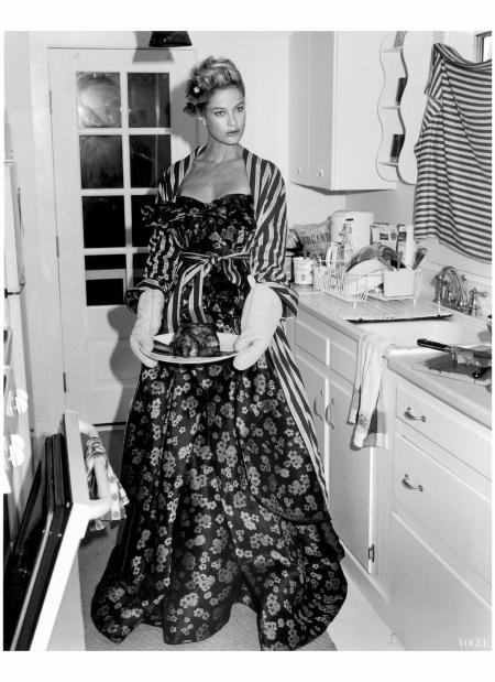 Carolin Murphy Vogue, October 2013 Bruce Weber