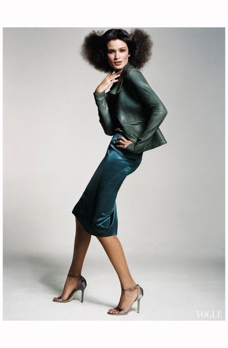 Caroline Ribeiro - Balmain - Vogue January 2003 Craig McDean