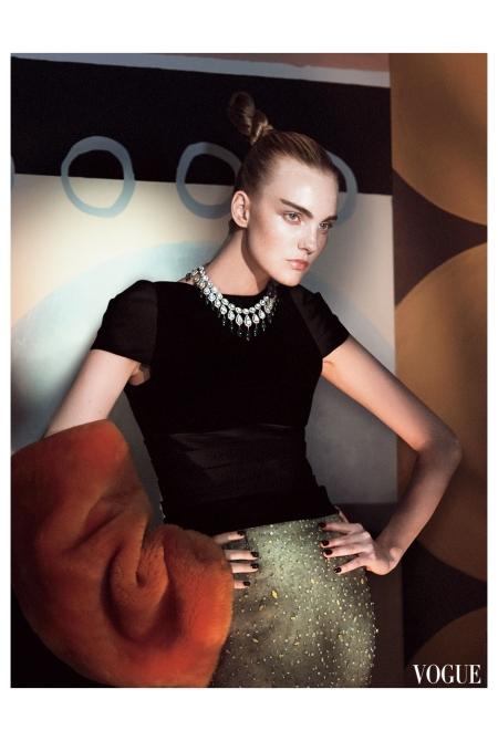 Caroline Trentini Photo David Sims, Vogue, September 2014