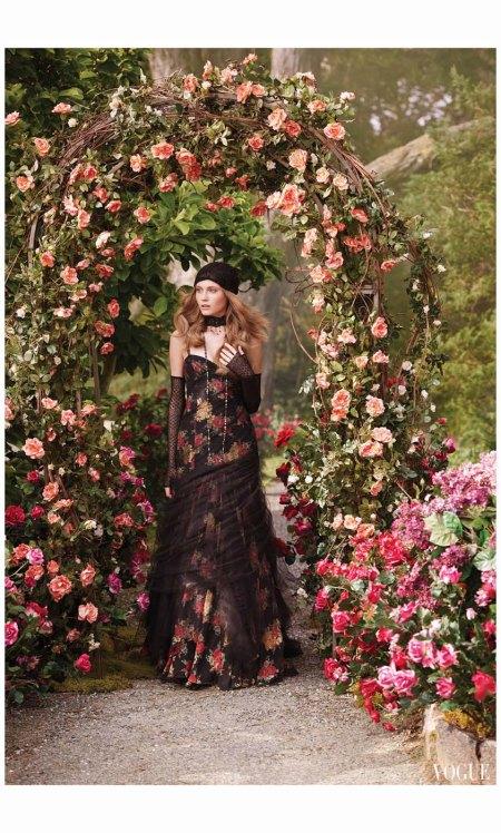 Charlotte di Calypso Ralph Lauren 2002 Mark Seliger