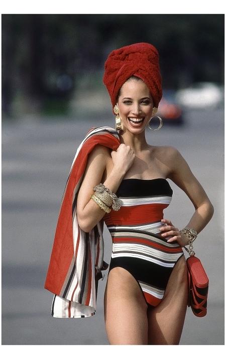 Christy Turlington Vogue, April 1990 Patrick Demarchelier