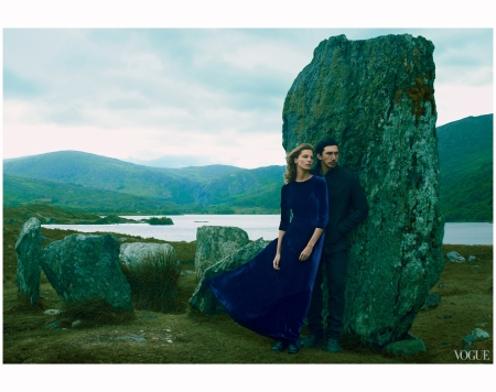 Daria and Adam Driver Photo Annie Leibovitz 2013