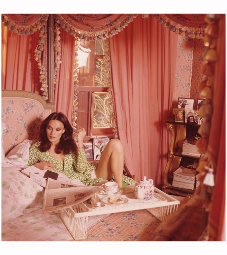 Diane Von Furstenberg Vogue July 1976 Photo Horst P.Horst
