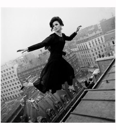 "Dorothy ""Fly Dior"" Dior Wings Photo Melvin Sokolsky 1965"