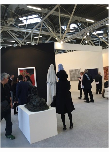 """Arte Fiera"" hat & burka in Fira district in Bologna 2015"