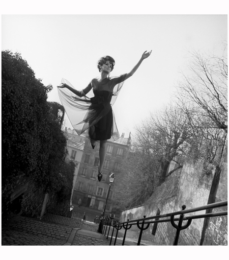 Fly Series Fly High, Paris 1965 Dorothea McGowan Photo Melvin Sokolsky