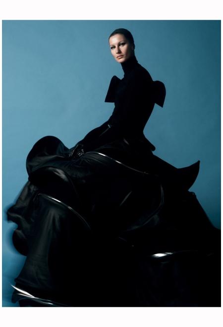 Gisele Bundchen Yohji Yamamoto Love Mag 2014 Photo David Sims