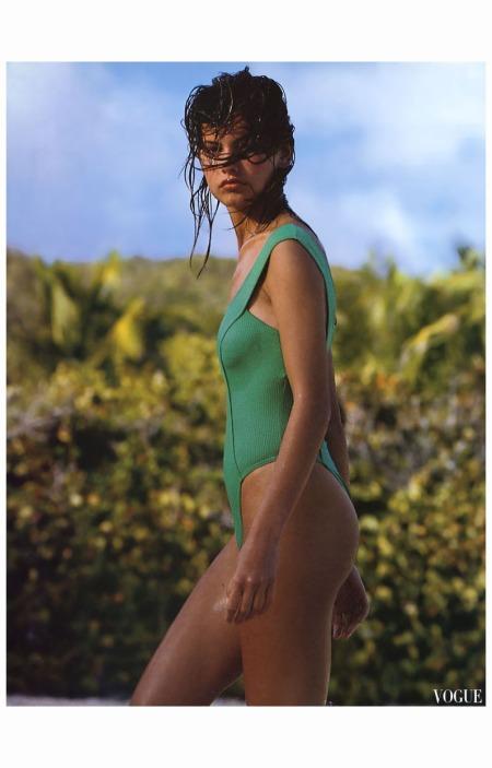 Gretha Cavazzoni  Vogue Italia, May 1989 Ellen von Unwerth