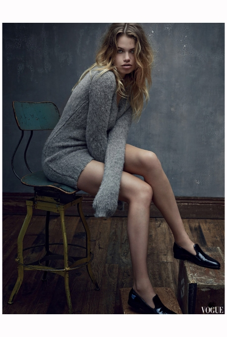 Hailey Clauson Vogue Es sept 2014 Photo Mark Seliger b