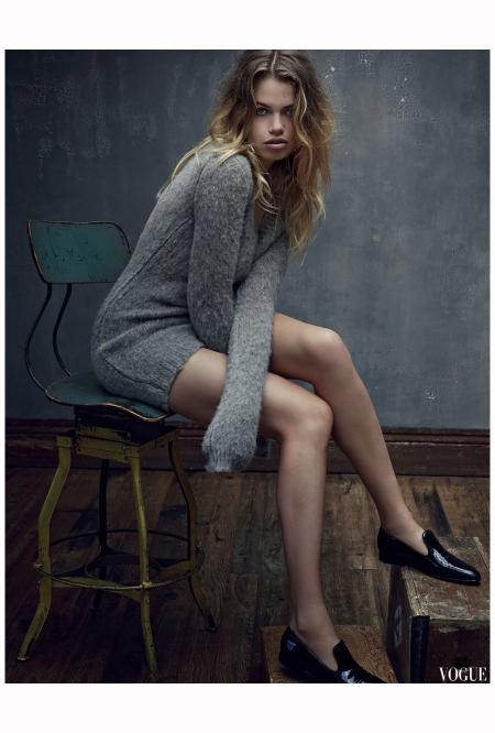 Hailey Clauson Vogue Es sept 2014 Photo Mark Seliger b