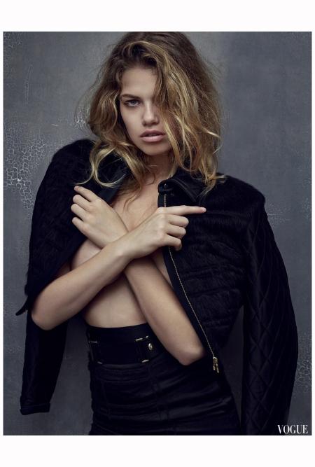 Hailey Clauson Vogue Es sept 2014 Photo Mark Seliger c