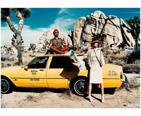 Kirsty Hume - Vogue 1997 Ellen von Unwerth