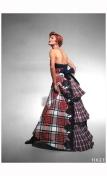 Linda Evangelista Vogue UK October 1991 Christian Lacroix %22Send in the gowns%22 Photo Patrick Demarchelier b