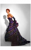 Linda Evangelista Vogue UK October 1991 Emanuel Ungaro %22Send in the gowns%22 Photo Patrick Demarchelier b