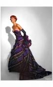 Linda Evangelista Vogue UK October 1991 Emanuel Ungaro %22Send in the gowns%22 Photo Patrick Demarchelier b
