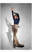 Linda Evangelista Vogue UK October 1991 Gianfranco Ferrè Dior %22Send in the gowns%22 Photo Patrick Demarchelier b