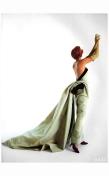 Linda Evangelista Vogue UK October 1991 Hervè Pierre for Balmain %22Send in the gowns%22 Photo Patrick Demarchelier b