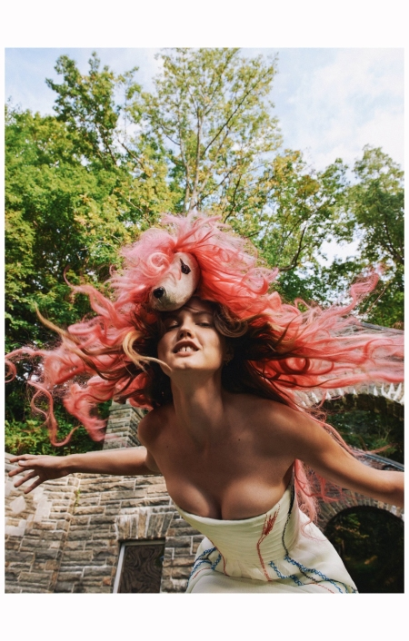 Lindsey Wixson 2014 Photo Ryan McGinley