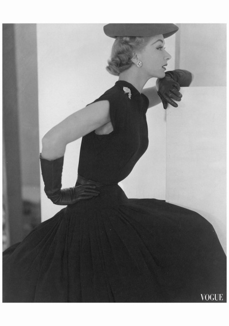 Lisa hat & Gloves - Vogue 1951 Horst P. Horst