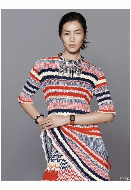 Liu Wen Vogue China november 2014 Photo David Sims