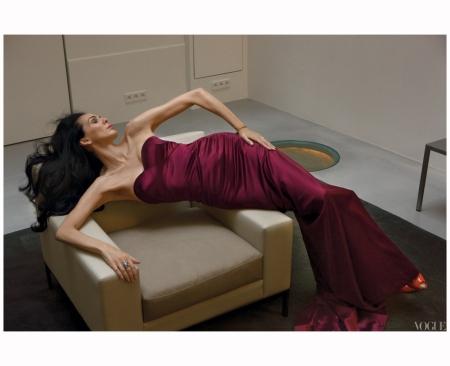 L'Wren Scott Annie Leibovitz, Vogue, April 2009