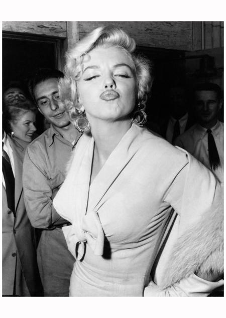 Marilyn 1954 Weegee (Arthur Fellig)