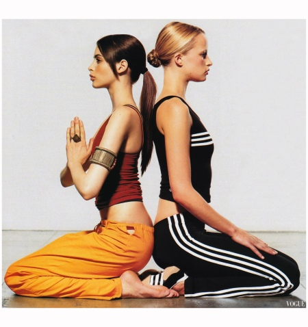 Meditation Studio Vogue, October 2002 Photo Wolfgang Ludes