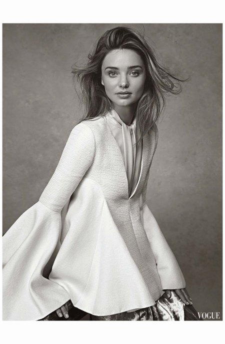 Miranda Kerr Vogue Au july 2014 Photo Nicole Bentley b