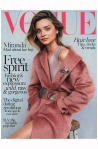 Miranda Kerr Vogue Au july 2014 Photo Nicole Bentley cov