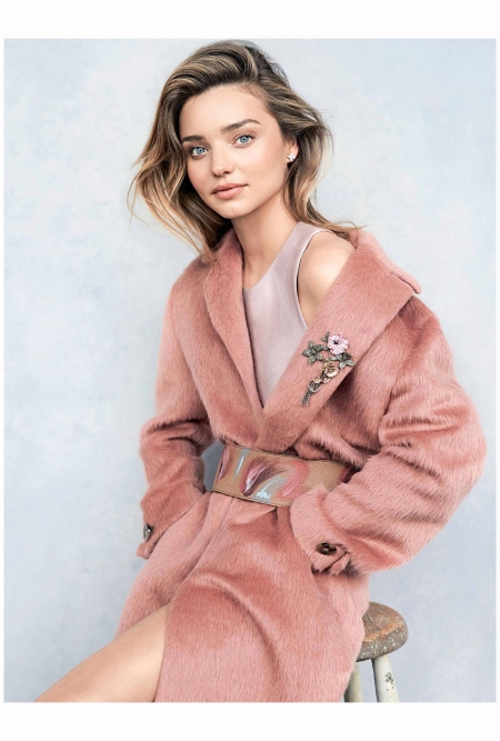 Miranda Kerr Vogue Au july 2014 Photo Nicole Bentley cover