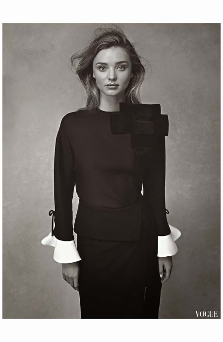 Miranda Kerr Vogue Au july 2014 Photo Nicole Bentley d