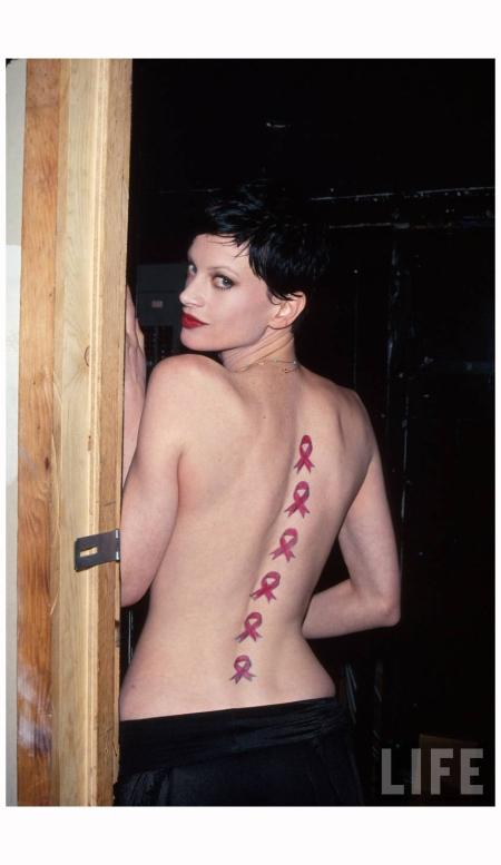 Model Kristen McMenamy Photo Dave Allocca 1993